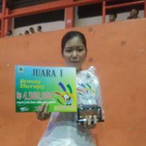 Juara 1 Biuty Terapy Lsk Tingkat Propinsi Jateng